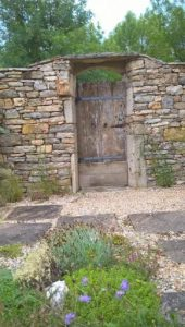 Fifteenth Century Gate in France Farmhouse Copywriter on holiday My Words Work For You