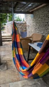 Hammock in france farmhouse France Copywriter My Words Work For You