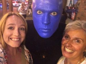 Blue Man Show Chicago Business Support My Words Work For You