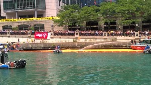 Annual Duck Race Chicago Business Support My Words Work For You