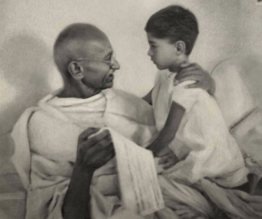 Mahatma and Arun Gandhi The Gift of Anger Content Writer Cambridge My Words Work For You