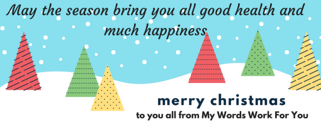 Merry Christmas from My Words Work For You