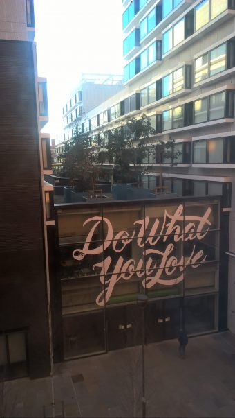Do What You Love Hotel view Content Writer My Words Work For You