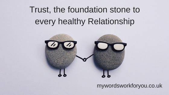 Trust Relationships in Business Small Business Support Mentor My Words Work For You