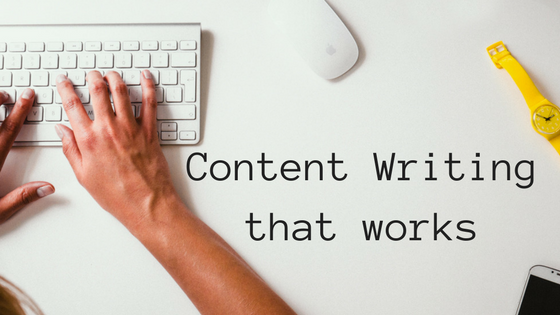 Keyboard Hands Typing Content Writing that Works Content Writer for websites My Words Work For You