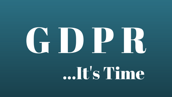 GDPR Compliance Sign May 25th 2018 Small Business Support My Words Work For You