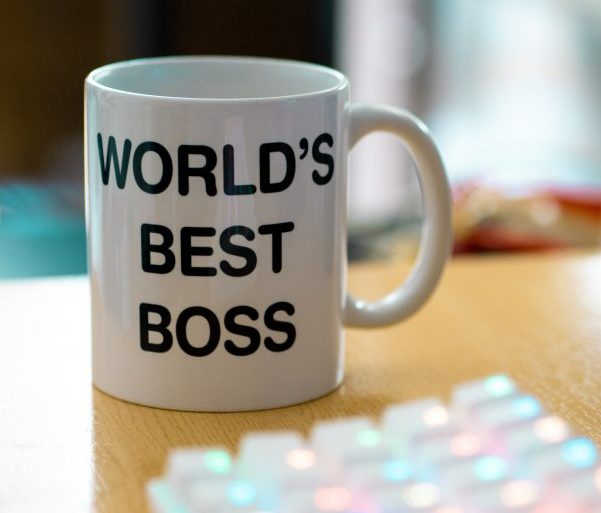 Best Boss Mug happy workforce business support